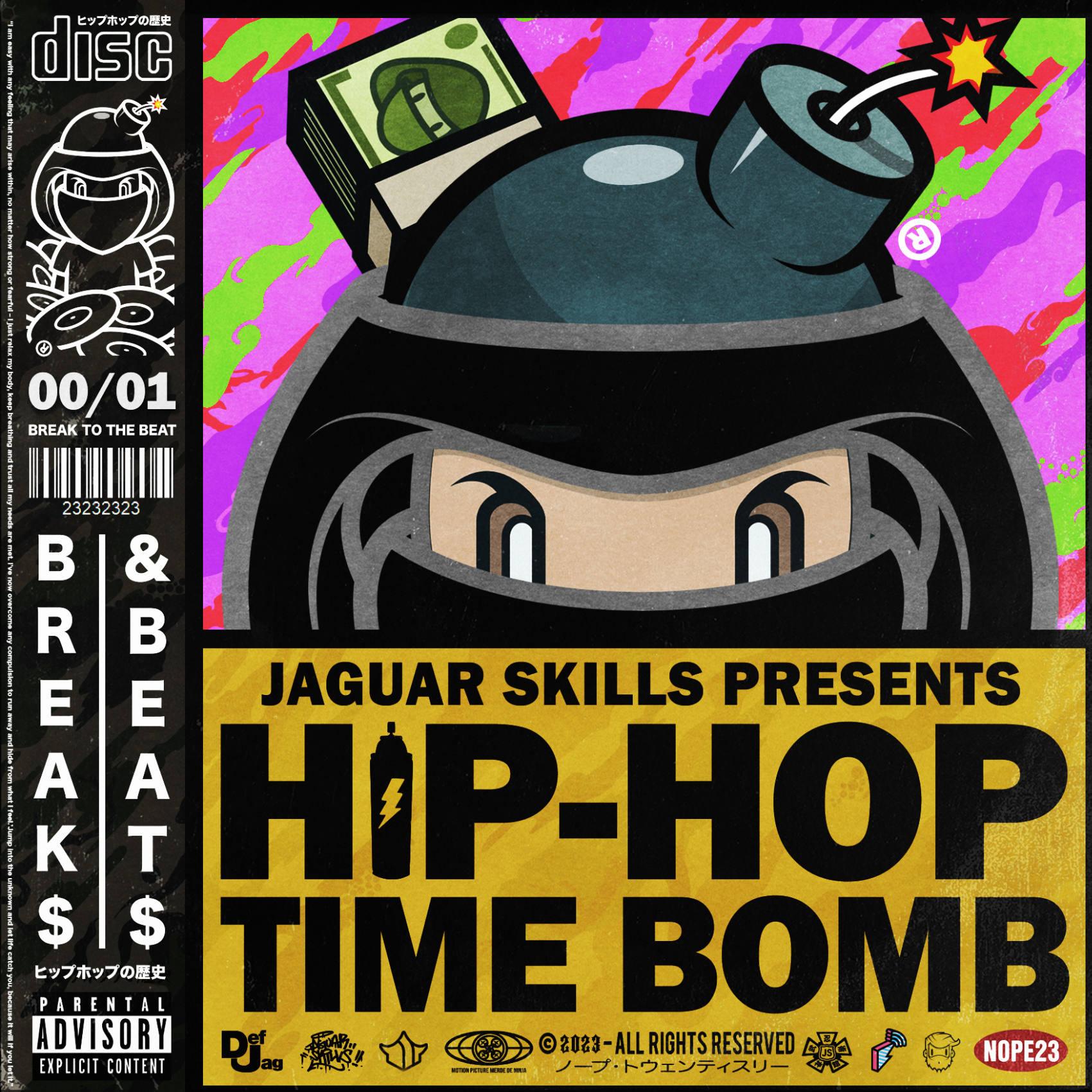 Jaguar Skills Hip-Hop Time Bomb : 2000 (Instrumental)