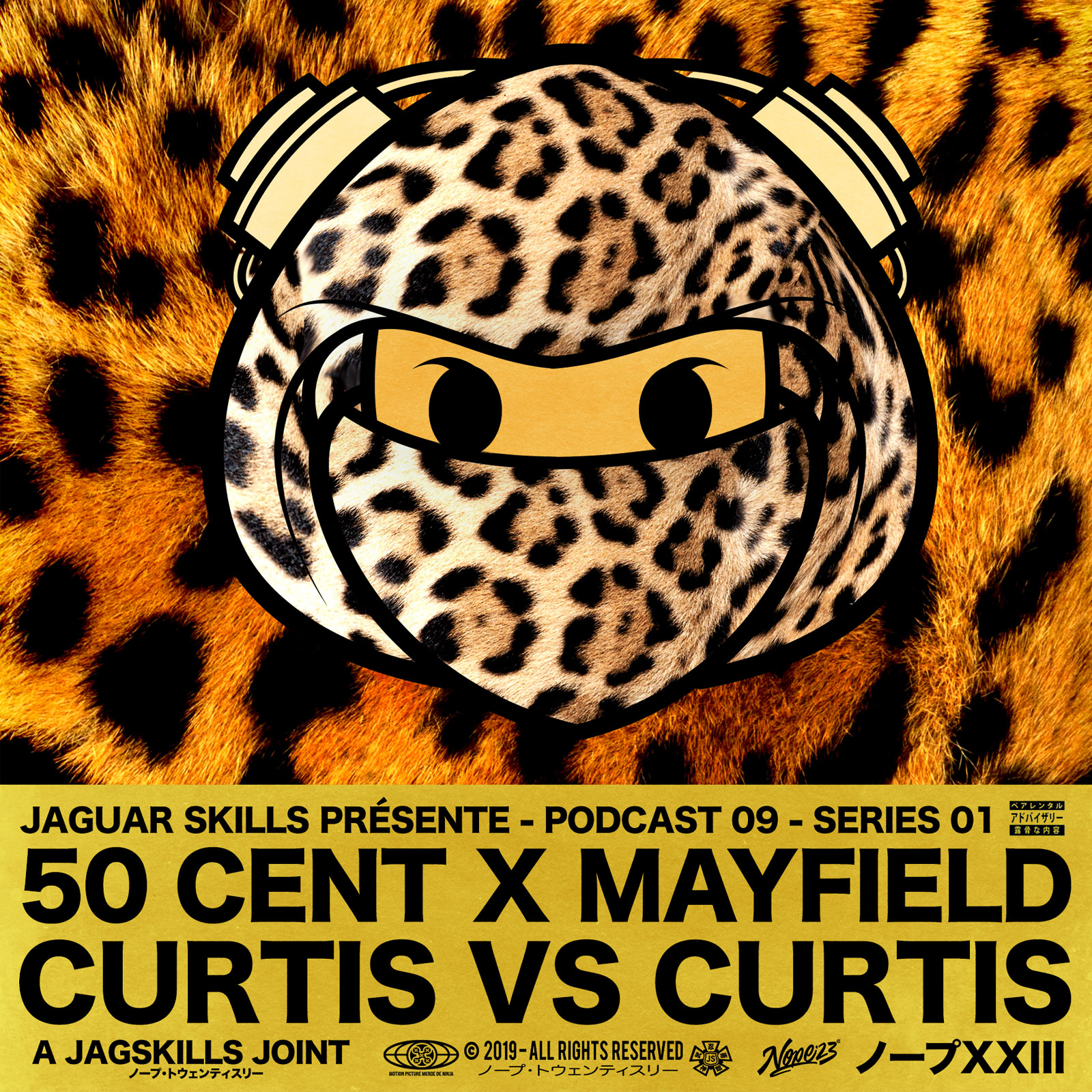 A JAGSKILLS JOINT – 50 CENT & CURTIS MAYFIELD - CURTIS VS CURTIS