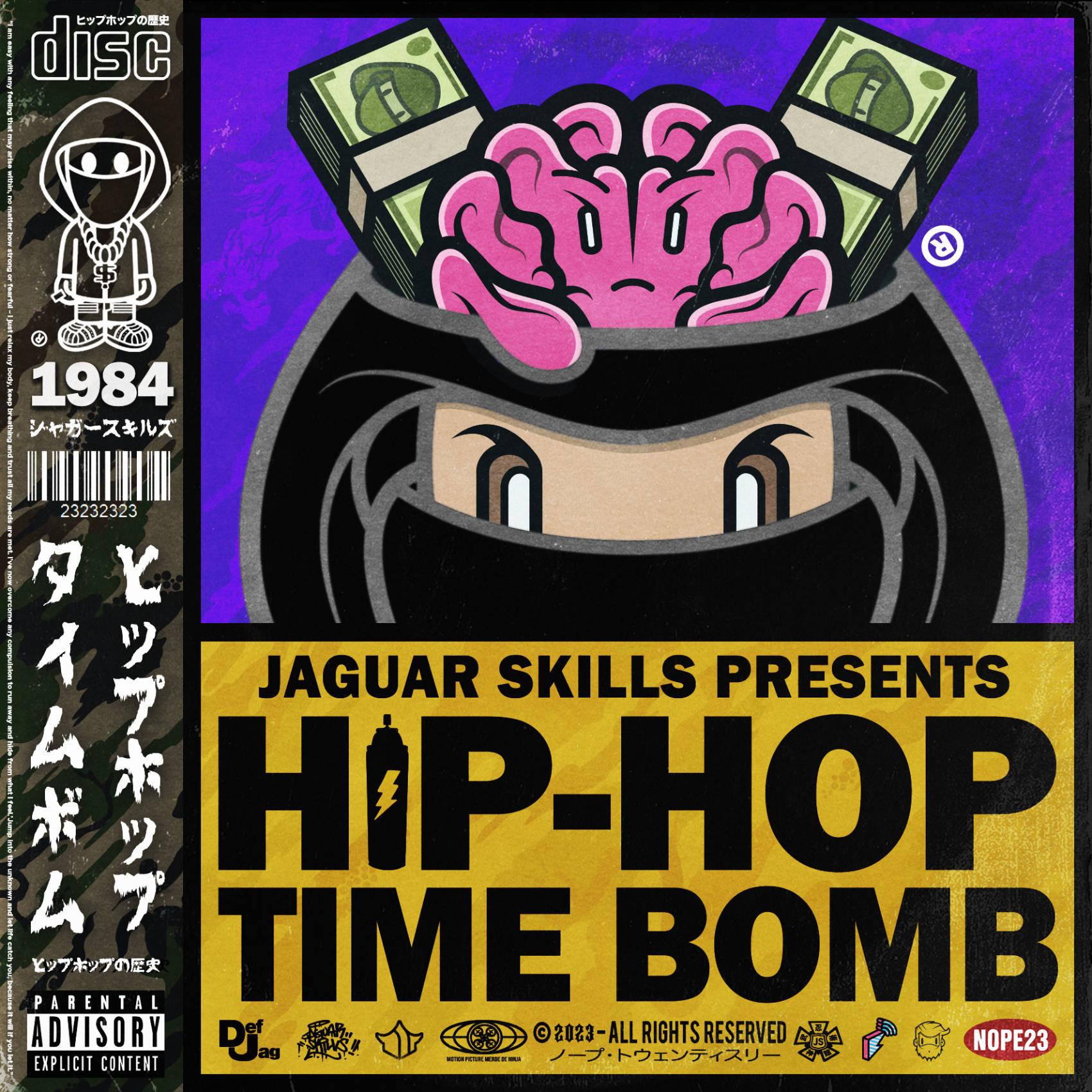 Jaguar Skills Hip-Hop Time Bomb : 1984