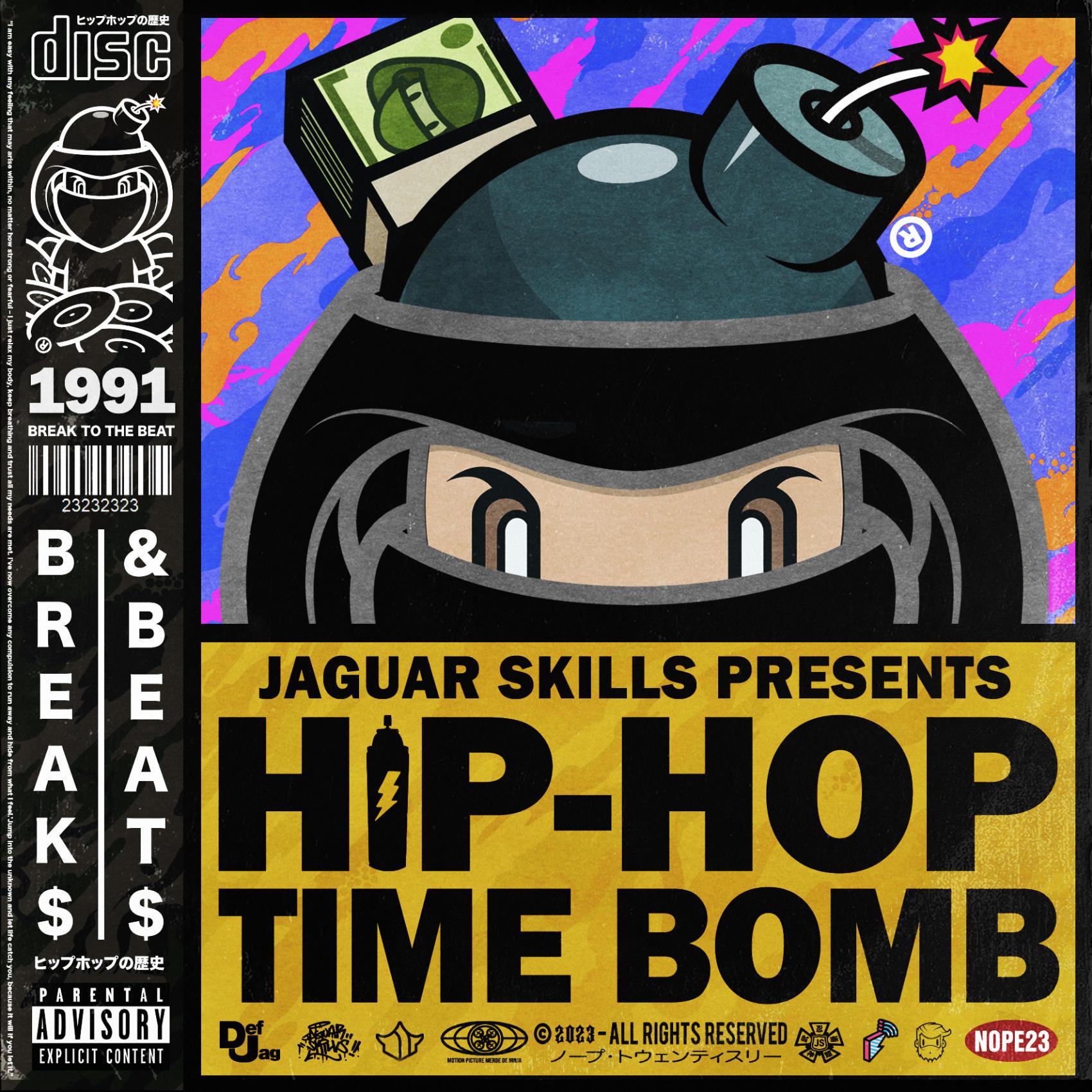 Jaguar Skills Hip-Hop Time Bomb : 1991 (Instrumental)